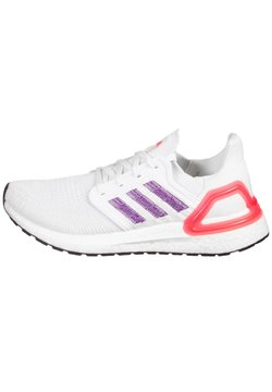 adidas Performance - ULTRABOOST - Laufschuh Neutral - footwear white / glow purple / echo pink