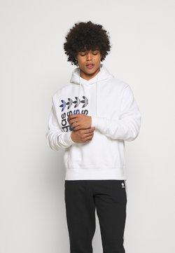 adidas Originals - HOODY UNISEX - Sweatshirt - white
