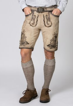 Stockerpoint - HANS - Lederhose - grey