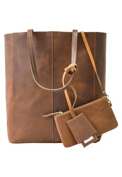 Gusti Leder - CASSIDY - Shopping Bag - braun