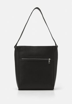 Zign - LEATHER - Shopping Bag - black