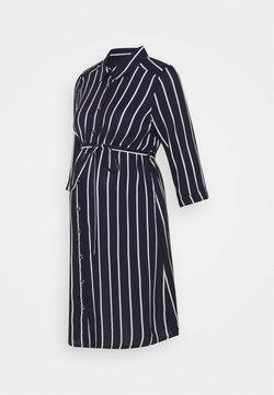 MAMALICIOUS - NURSING DRESS - Vestido camisero - navy blazer