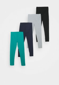 Friboo - 4 PACK - Legging - turquoise/black/light grey