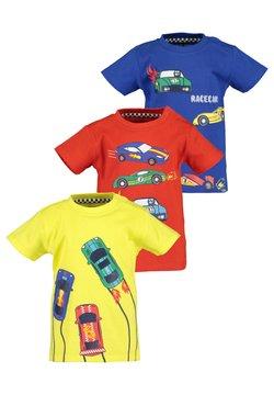 Blue Seven - MINI KN T-SHIRT, RH - 3ER PACK - T-shirt print - yellow