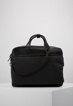 Calvin Klein - MONO BLEND LAPTOP BAG - Aktentasche - black