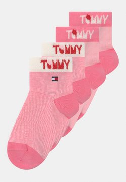Tommy Hilfiger - WORDING 4 PACK UNISEX - Calcetines - pink