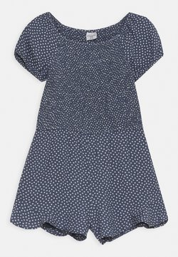 Abercrombie & Fitch - SMOCKED ROMPER - Combinaison - blue