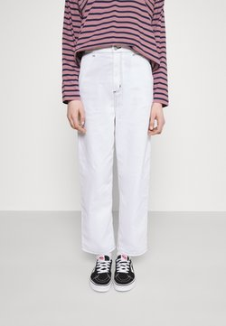 Carhartt WIP - ARMANDA PANT - Relaxed fit jeans - white