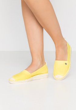 Esprit - INES BASIC - Espadrilles - lime yellow
