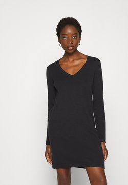 Vero Moda - VMDIANE V NECK DRESS  - Etuikleid - black