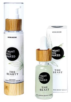 I WANT YOU NAKED - THE BEAUTY & THE BEAST FACE CREAM AND SERUM - Gesichtspflegeset - -