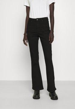 2nd Day - FIONA THINKTWICE - Jeans a zampa - denim black