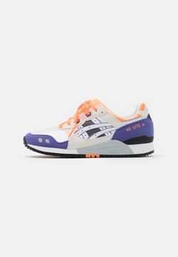 ASICS SportStyle - GEL-LYTE III UNISEX - Sneaker low - white/orange