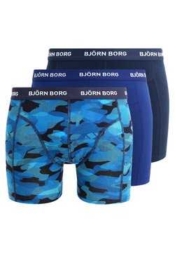 Björn Borg - SHADELINE SAMMY SHORTS 3 PACK - Panties - total eclipse