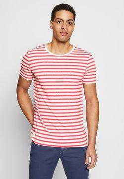Ragwear - PAUL STRIPE ORGANIC - T-Shirt print - red