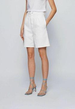 BOSS - Denim shorts - natural