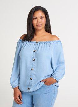 Zizzi - Bluse - light blue