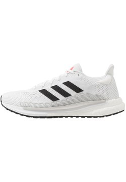 adidas Performance - SOLAR GLIDE 3 - Zapatillas de running neutras - footwear white/core black/signal pink