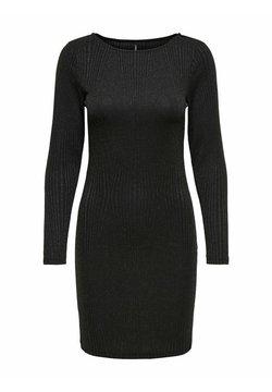 ONLY - Vestido de punto - black