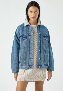 PULL&BEAR - Veste en jean - blue