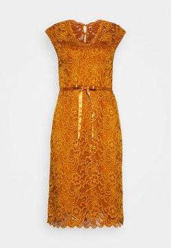 MAMALICIOUS - MLNEWMIVANA CAP DRESS - Vestido de cóctel - sudan brown