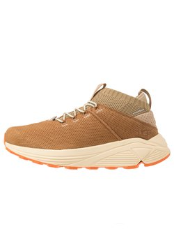 UGG - MIWO SPORT HIGH HYPERWEAVE - Sneakersy wysokie - oak