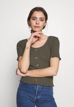 ONLY - ONLJUDITH LIFE BUTTON - T-Shirt print - grape leaf