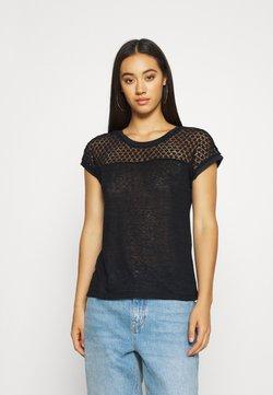 ONLY - ONLRILEY MIX - Camiseta estampada - black
