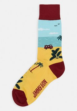 Jimmy Lion - SURF TRIP - Socken - yellow