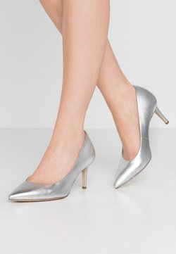Tamaris - COURT SHOE - Pumps - silver