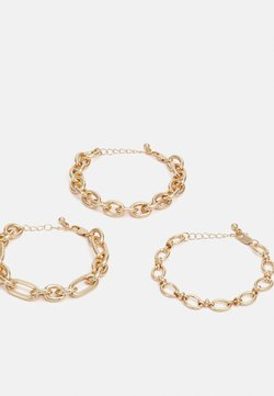 Pieces - PCAFRA BRACELETS 3 PACK - Bracelet - gold-coloured