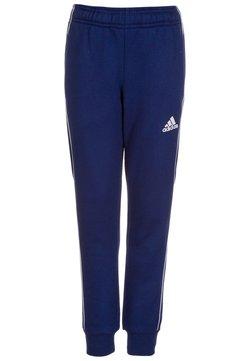 adidas Performance - CORE - Verryttelyhousut - dark blue/white