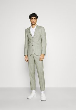 Viggo - SVENSKT SLIM SUIT - Anzug - light grey