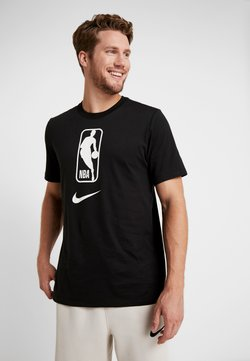 Nike Performance - NBA DRY TEE - T-shirt imprimé - black/white