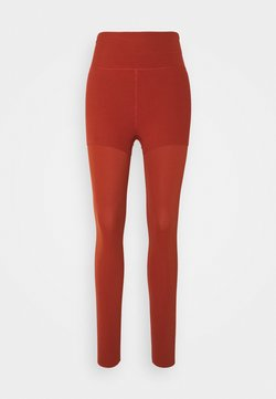 Nike Performance - LUXE LAYERED 7/8 - Tights - rugged orange/light sienna