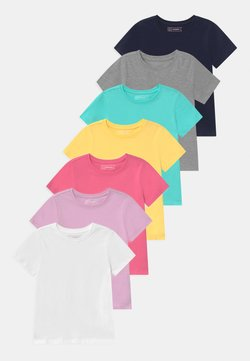 Friboo - 7 PACK  - T-shirt basic - dark blue/blue/pink