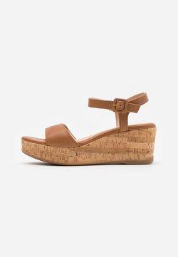 Unisa - KOME - Sandales à plateforme - bisquit