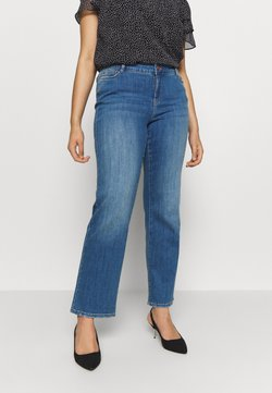 JUNAROSE - by VERO MODA - JRTEN - Straight leg jeans - medium blue denim