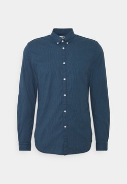 TOM TAILOR DENIM - STRETCH - Hemd - dark blue