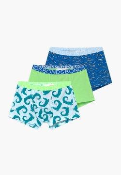 Bonds - 3 PACK - Shorty - blue/green