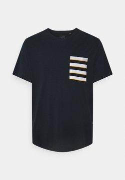 Only & Sons - ONSVANE LIFE LONGY POCKET TEE - T-Shirt print - dark navy