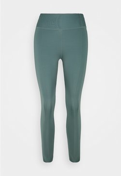 Nike Performance - ONE LUXE CROP - Tights - hasta/white