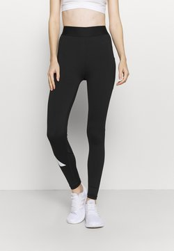 adidas Performance - ADILIFE - Tights - black/black/white