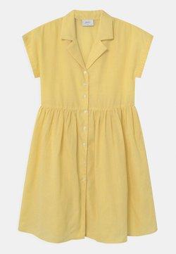Grunt - JANE CHECK  - Blusenkleid - yellow