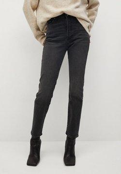 Mango - GISELE - Slim fit jeans - black denim