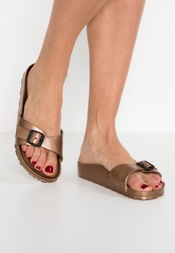 Birkenstock - MADRID - Badslippers - metallic copper