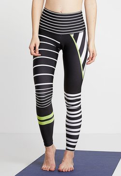 Onzie - HIGH RISE GRAPHIC - Tights - black