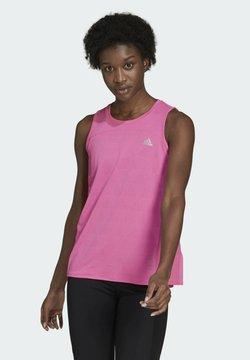 adidas Performance - HEAT.RDY TANK W - Top - pink