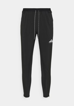Nike Performance - ELITE PANT TRAIL - Verryttelyhousut - black/white