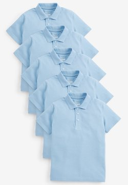 Next - 5 PACK TEFLON® COATED  - Poloshirt - blue